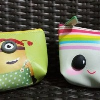 Jual Exclusive Cute Character Coin Pouch Dompet Koin Murah