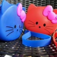 Jual Coin Pouch Dompet Koin Silikon Hello Kitty Murah