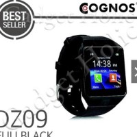 JAM Cognos Smartwatch DZ09 - U9 GSM Sim Card - Strap Karet Smart Watc