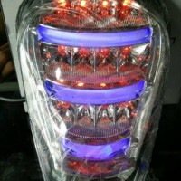 Jual Stoplamp led scoopy fi / lampu belakang led + drl / bukan karpet/ garn Murah