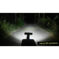 Jual Led Bar 18w Lampu sorot tembak Offroad drl Work light LED mobil/motor Murah