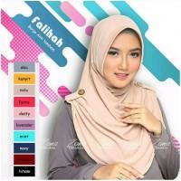 Falihah bergo instan / hijab syari / jilbab instan / mu Diskon