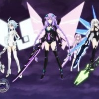DVD Anime Choujigen Game Neptune The Animation Sub Indo Eps 1-End