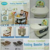 Jual Pliko Folding Booster Baby Seat Deluxe Comfort Kursi Makan Bayi Murah