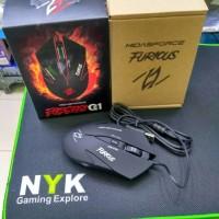 Jual Midasforce Furious G1 Gaming Mouse - Hitam - komputer - Gamers Murah