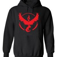 Jual Murah! team valor hoodie VL sweater pria hitam pokemon GO Murah