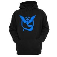 Jual Murah! team mystic hoodie VL sweater pria hitam pokemon GO Murah