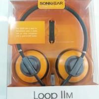 Jual SonicGear Loop IIM Sunny Orange Headset   Headphone Sonic Gear II M Murah