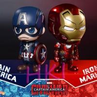 Jual Pajangan Captain America Vs Iron Man (CIVIL WAR) Murah