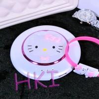 Jual Powerbank Cermin Putar Hello Kitty Putih (10.800maH) Murah