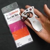 Jual Termurah | Eat N Tool Multifungsi CRKT 9001C Sendok Garpu Obeng EDC Murah