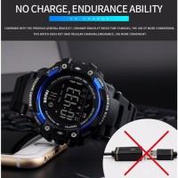 terbaik SKMEI Jam Tangan Olahraga Smartwatch Bluetooth - DG1226 BL