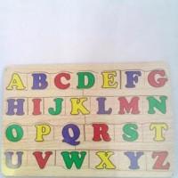 Jual mainan edukasi anak-puzzle huruf besar Limited Murah