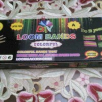 Jual (Dijamin) Rainbow Loom Bands - DIY Murah