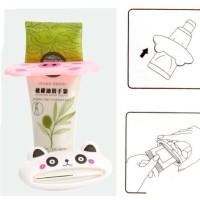 Jual Penjepit odol bentuk mulut hewan karakter animal dispenser tooth paste Murah