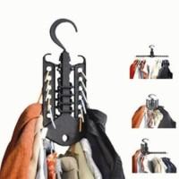 Jual Magic hanger gantungan baju pakaian multifungsi portabel bisa dilipat Murah