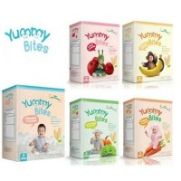 Jual (Dijamin) Yummy Bites Baby Rice Cracker / Biskuit Bayi / Makanan Bayi Murah