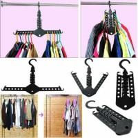 Jual best quality magic hanger / gantungan baju / gantungan Murah