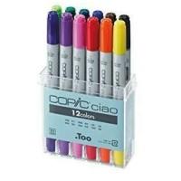 Jual (Diskon) copic ciao set 12 basic color Murah