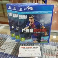 (Diskon) Ps4 Pes 2018 Premium New
