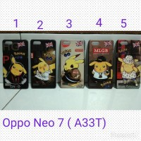 Jual Murah Hardcase Karakter Pokemon For Oppo Neo 7 / back Hard Case Casing Murah