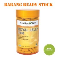 (Dijamin) Healthy Care Royal Jelly 1000mg isi 365 kapsul