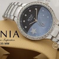 (Dijamin) Jam Tangan Wanita Bonia Star Diamond Stainless Steel