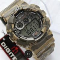 (Dijamin) Jam Tangan Pria Digitec DG-2071 Army Digital Rubber ORIGINAL