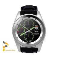 Smart watch G6 - Heart Rate Smartwatch G6 Jam Pintar Silicone Silver