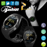 Smart Watch DZ11 / JAM PINTAR Smartwatch Y1 SIM MEMORY FULLBLACK