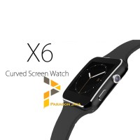 Smart Watch X6 - Smartwatch Jam Tangan Pintar Sim Card A1 Gen 2 Hitam