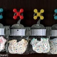 Jual MIYO 3pc Sarung Tangan Kaki Newborn Polkadot Murah