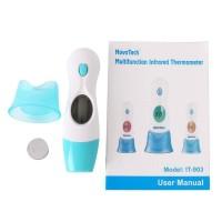 Jual Perlengkapan Bayi: Termometer Digital 8 In 1+LCD Teknologi Infrared Di Murah