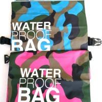 Jual Dry Bag Travel Bag Drybag 15L PVC Anti Air Waterproof Army Murah