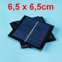 Solar panel / sel surya - 5.5V 90mA 0.6W - cocok utk charger HP dll