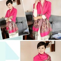 Jual Bohemia Pashmina Shawl Wraps Scarf Cotton Kerudung Selendang Hijab J Murah