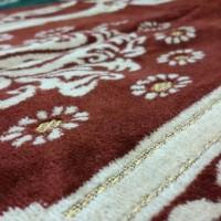 Jual Sajadah Turki Bahan Bludru - Ukuran Tanggung - K625 Murah