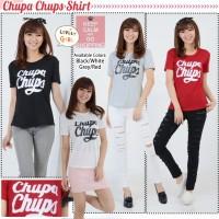 kaos wanita / t-shirt chupa chups tangan pendek Zhenit-Collection