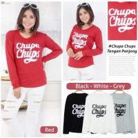 kaos wanita / t-shirt chupa chups tangan panjang Zhenit-Collection
