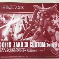 HGUC 1/144 Zaku III Custom (Twilight Axis Ver.)