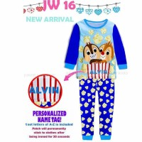 """Pajamas """"PERSONALIZED NAME"""" Chip And Dale"""