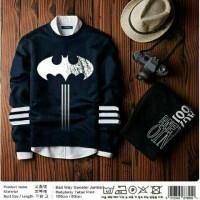Jual 1967 Sweater Navy Batman/ Baju Murah/ Baju Grosir Murah