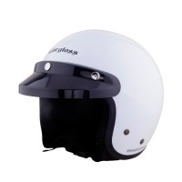 Cargloss CF Helm Half Face - Army SP. Whity White
