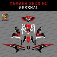 Jual Sticker striping motor stiker Yamaha Xeon Arsenal SPEC A Murah