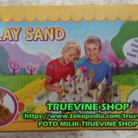 Play Sand (Magic Sand/Pasir Kinetik/Kincetic/Pasir Ajaib)
