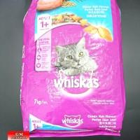 Jual Makanan kucing catfood whiskas oceanfish adult cat 7kg Murah