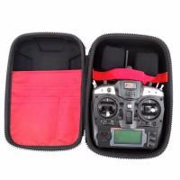 Tas Remote Control untuk FlySky GT-3C FS-T6 FS-I6 FS-TH9X - Black