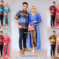 Jual Couple Rok dan Blus Zalora Etnic, batik murah,baju pasangan modern Murah