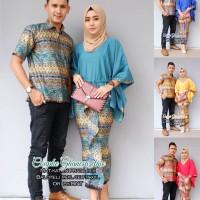 Jual Couple Rok dan Blus Ghanesa Etnic, baju wanita modern, batik cople Murah