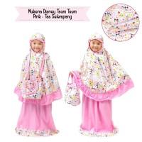 Jual Mukena Anak Disney Tsum Pink Tas Selempang Size M Murah